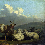Part 4 National Gallery UK - Karel Dujardin - Sheep and Goats