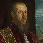 Jacopo Tintoretto – Portrait of Vincenzo Morosini, Part 4 National Gallery UK