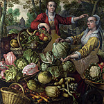 Part 4 National Gallery UK - Joachim Beuckelaer - The Four Elements - Earth