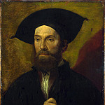Italian, North – Portrait of a Man in a Large Black Hat, Part 4 National Gallery UK