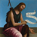 Saint John the Baptist, Lorenzo Costa