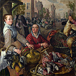 Part 4 National Gallery UK - Joachim Beuckelaer - The Four Elements - Air
