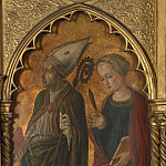 Jacopo di Antonio – A Bishop and a Female Martyr , Part 4 National Gallery UK