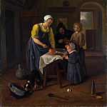 A Peasant Family at Meal-time (), Jan Havicksz Steen