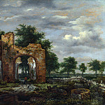 A Ruined Castle Gateway, Jacob Van Ruisdael