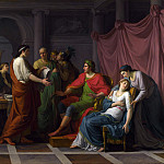 Part 4 National Gallery UK - Jean-Joseph Taillasson - Virgil reading the Aeneid to Augustus and Octavia