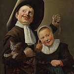 A Boy and a Girl with a Cat and an Eel, Judith Leyster