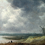 A Windmill by a River, Jan Van Goyen