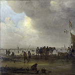 A Scene on the Ice, Jan Van Goyen
