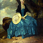 Part 4 National Gallery UK - Johann Zoffany - Mrs Oswald