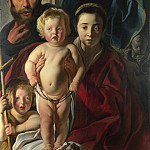 The Holy Family and Saint John the Baptist, Jacob Jordaens