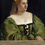 Part 4 National Gallery UK - Italian, Venetian - Portrait of a Lady