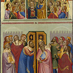 Jacopo di Cione and workshop – Pentecost, Part 4 National Gallery UK