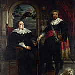 Portrait of Govaert van Surpele and his Wife, Jacob Jordaens