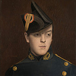 Portrait of Armand Gerome, Jean-Léon Gérôme