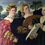 Part 4 National Gallery UK - Italian, Venetian - A Concert