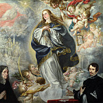 Part 4 National Gallery UK - Juan de Valdes Leal - The Immaculate Conception with Two Donors