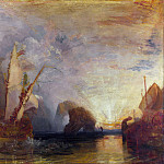 Part 4 National Gallery UK - Joseph Mallord William Turner - Ulysses deriding Polyphemus- Homers Odyssey