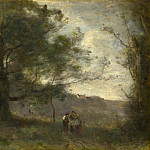 Jean-Baptiste Camille Corot – The Oak in the Valley, Part 4 National Gallery UK