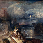 The Parting of Hero and Leander, Joseph Mallord William Turner