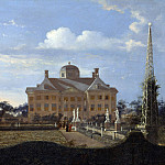 Part 4 National Gallery UK - Jan van der Heyden - The Huis ten Bosch at The Hague