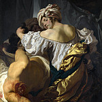 Johann Liss – Judith in the Tent of Holofernes, Part 4 National Gallery UK