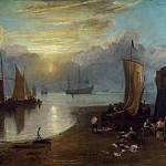 Sun Rising through Vapour, Joseph Mallord William Turner