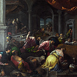 The Purification of the Temple, Jacopo Bassano