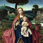 Part 4 National Gallery UK - Jan Provoost - The Virgin and Child in a Landscape