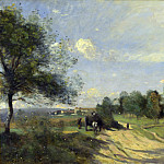 Jean-Baptiste Camille Corot – The Wagon , Part 4 National Gallery UK