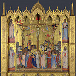 Jacopo di Cione – The Crucifixion, Part 4 National Gallery UK