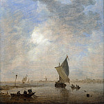 Part 4 National Gallery UK - Jan van Goyen - Fishermen hauling a Net