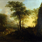 Part 4 National Gallery UK - Jan Both - A Rocky Landscape with an Ox-cart