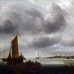 Part 4 National Gallery UK - Jan van de Cappelle - A Coast Scene