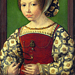 A Young Princess (Dorothea of Denmark), Jan Mabuse Gossaert