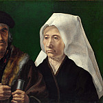 An Elderly Couple, Jan Mabuse Gossaert