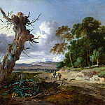 Part 4 National Gallery UK - Jan Wijnants - A Landscape with Two Dead Trees