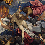 Jacopo Tintoretto – The Origin of the Milky Way, Part 4 National Gallery UK