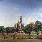 Part 4 National Gallery UK - Jan van der Heyden - View of the Westerkerk, Amsterdam