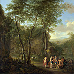 Jan Both and Cornelis van Poelenburgh – A Landscape with the Judgement of Paris, Part 4 National Gallery UK