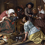 The Effects of Intemperance, Jan Havicksz Steen