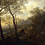 Part 4 National Gallery UK - Jan Both - A Rocky Italian Landscape with Herdsmen and Muleteers