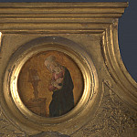 Jacopo di Antonio – The Annunciate Virgin – Frame Roundel , Part 4 National Gallery UK