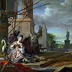 Part 4 National Gallery UK - Jan Weenix - An Italian Courtyard