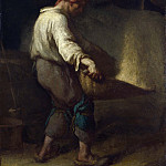 The Winnower, Jean-François Millet