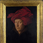 Portrait of a Man (Self Portrait), Jan van Eyck
