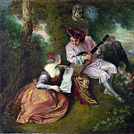The Scale of Love, Jean-Antoine Watteau