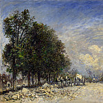 The Boulevard de Port-Royal, Paris, Johan Barthold Jongkind