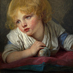Jean-Baptiste Greuze – A Child with an Apple, Part 4 National Gallery UK
