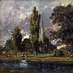 Salisbury Cathedral and Leadenhall from the River Avon, John Constable